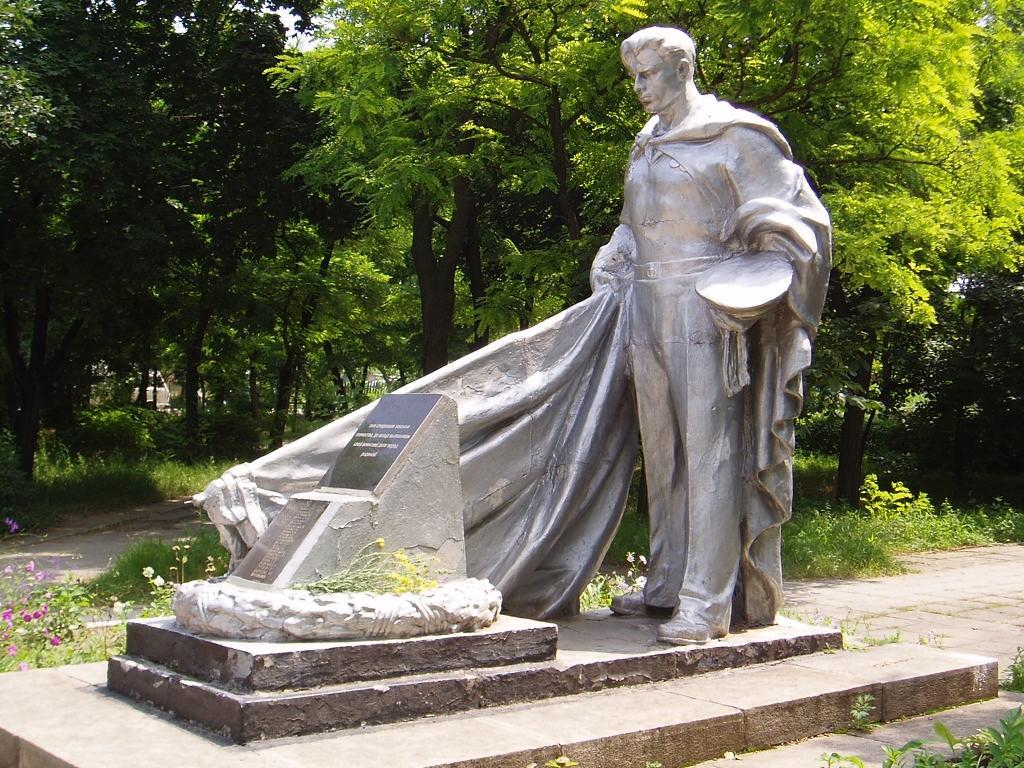 Очаков. Памятник скорбящему матроcу.