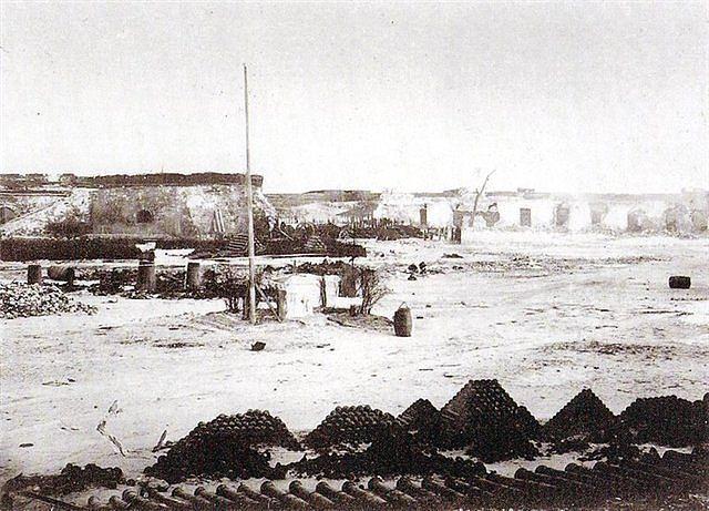Кинбурнская крепость. 1855 г.