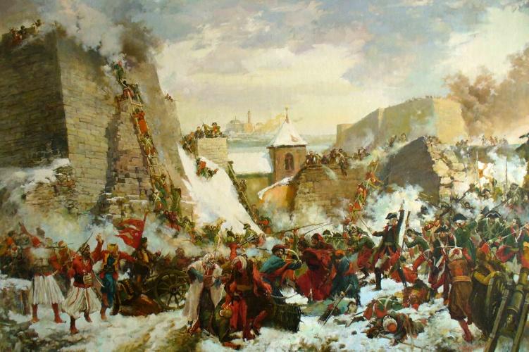 «1788. Взятие Очакова» Худ. Полнобродский В.Г.