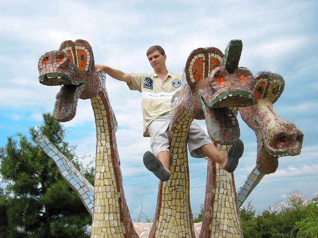 Курорт Очаков. Змей Горыныч