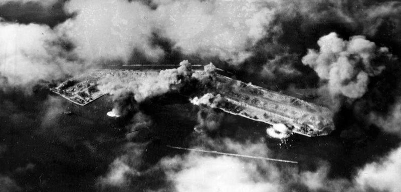 Бомбардировка о.Майский. 1941г.