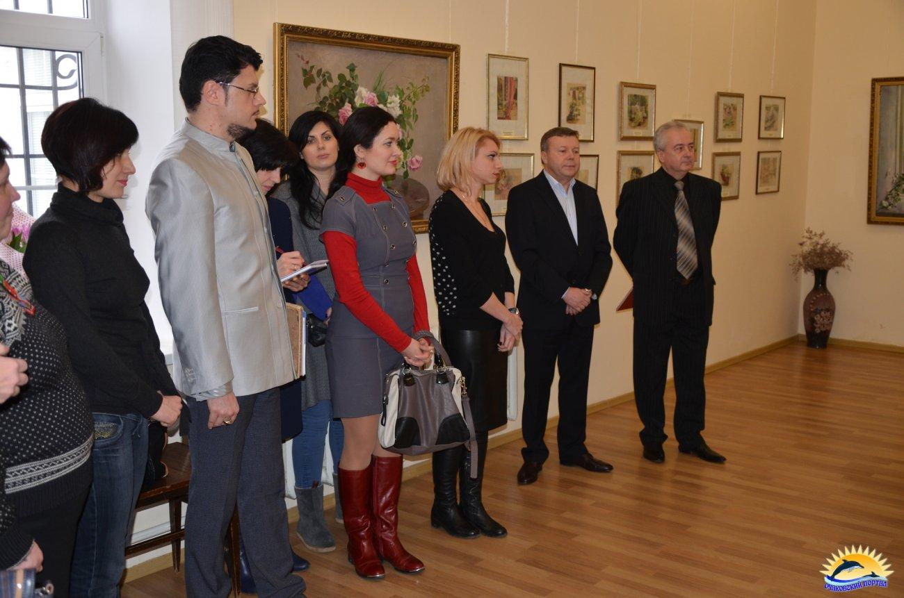 Гости на выставке в музее им. Р.Г.Судковского