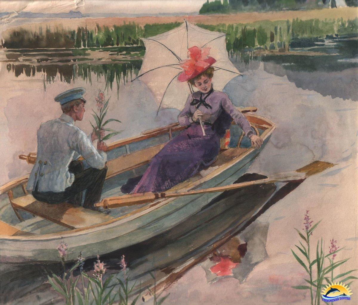 Лодка Е.П. Самокиш-Судковская.