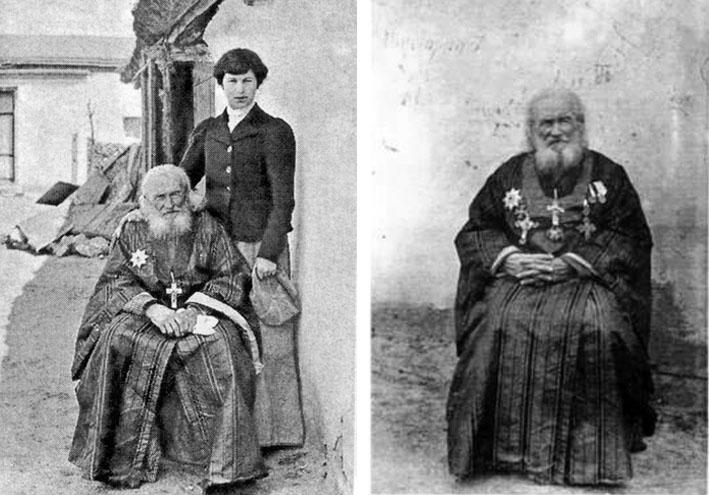 Очаков. Гавриил Судковский с внучкой Маргаритой