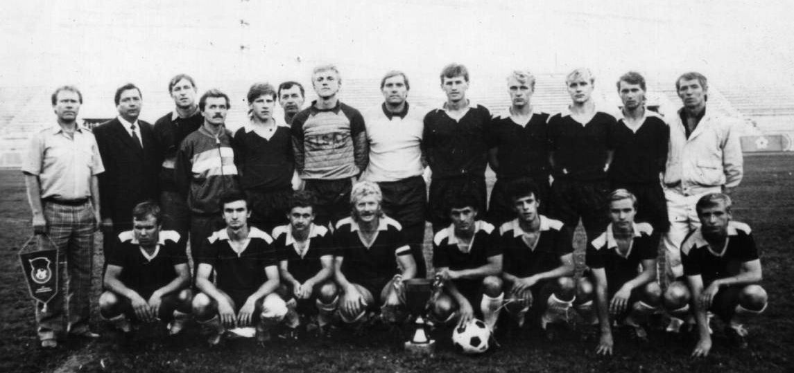 Очаковская футбольная команда «Маяк» 1990 г.