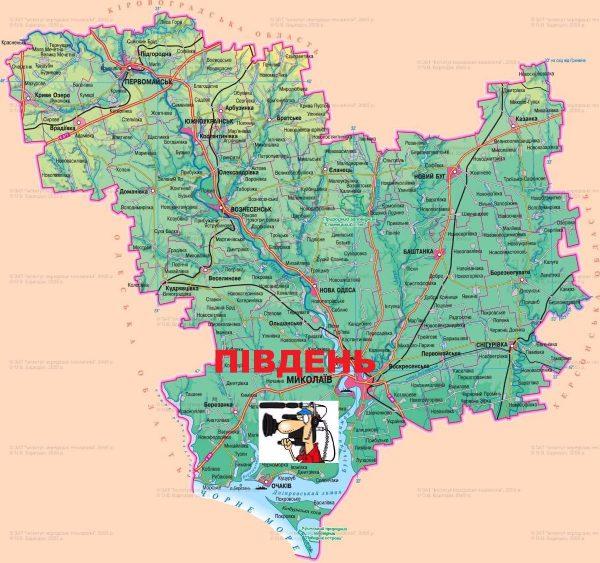 самом какой регион у николаевской области плотнее