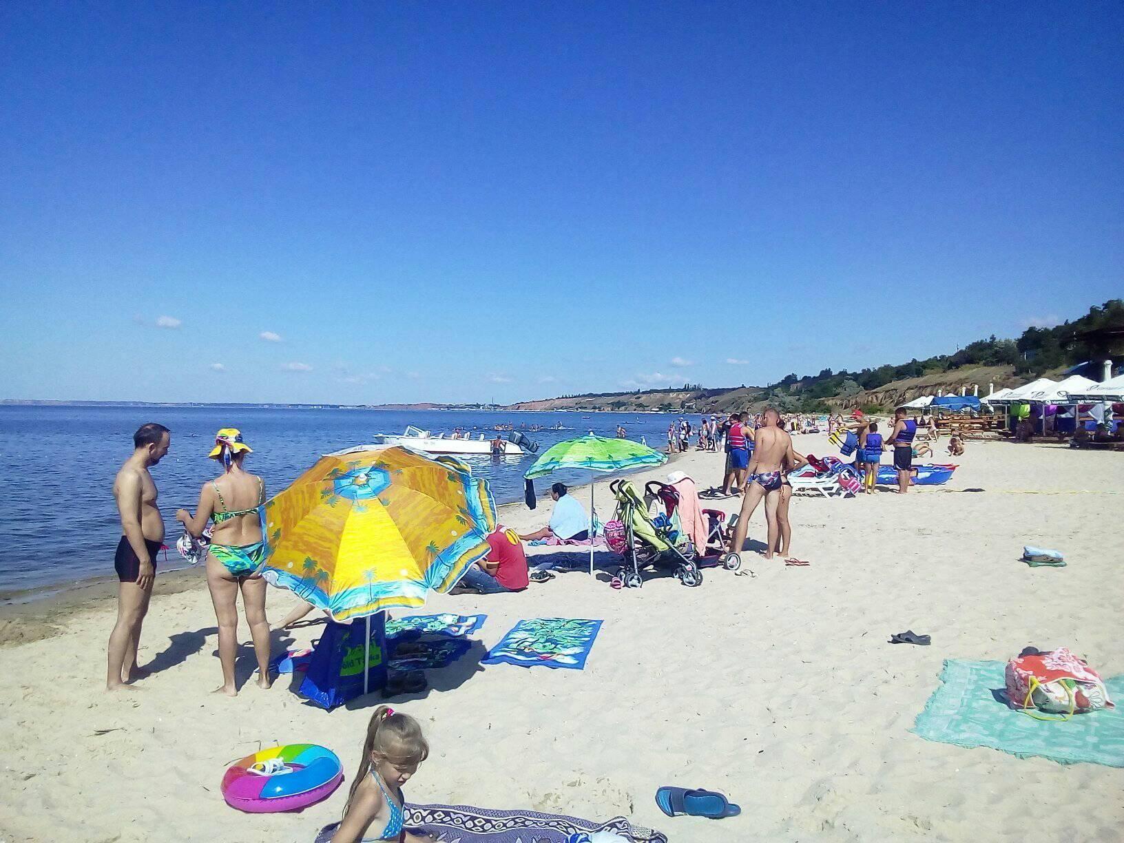 Очаковский пляж