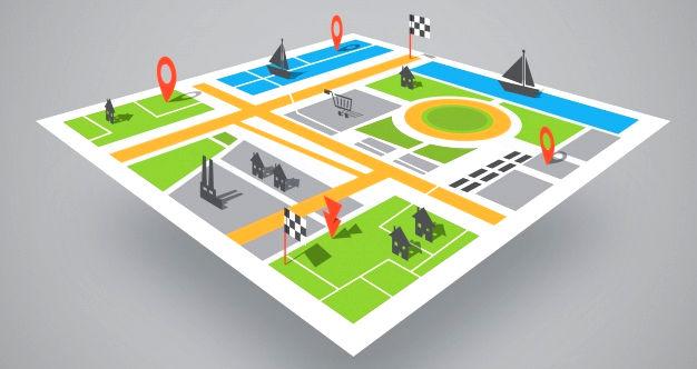 3D-карта Очакова
