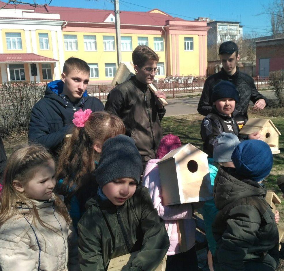 День зустрічі птахів в очаківських школах