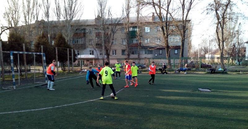 Очаков. детские соревнования по мини-футболу