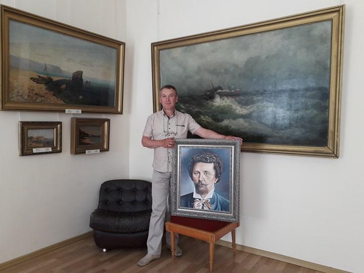 Портрет Судковского. Худ.Игорь Пичугин