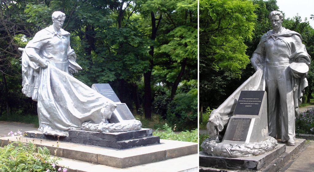 Очаков. Памятник  погибшим морякам