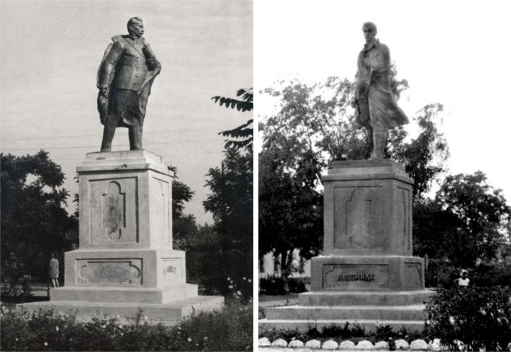 Первый памятник  П.П. Шмидту