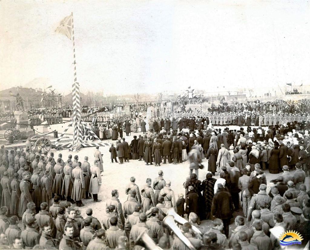 Открытие памятника Суворову в Очакове